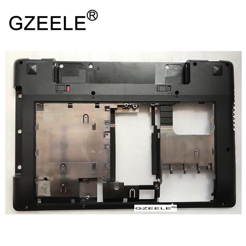 Gzeele novo para lenovo para thinkpad z480 inferior base capa inferior caso escudo 3alz2balv10 90200655