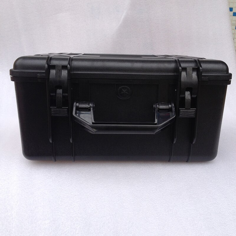 ABS material hard plastic tool case shockproof waterproof tool box for multimeter