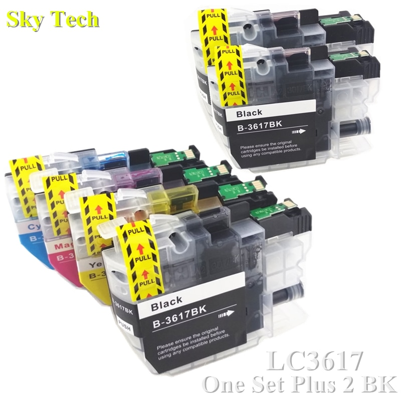 Cartucho de Tinta Compatível Para LC3617 LC-3617 6X, para O Irmão MFC-J2330DW MFC-J2730DW MFC-J3530DW MFCJ-3930DW etc ....