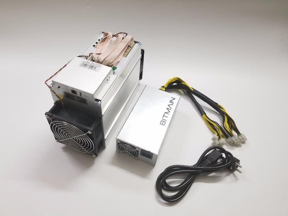 BITMAIN-Antminer D3 17GH/s مع BITMAIN APW7 1800W Asic X11 Miner can لـ DASH و BTC coins