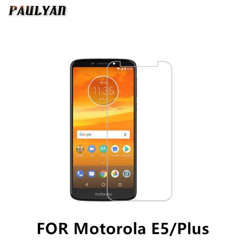 9H de cristal para Motorola E5 de vidrio Protector de pantalla para Motorola MOTO Z3 de vidrio templado para Motorola E5 Plus Protector de vidrio película