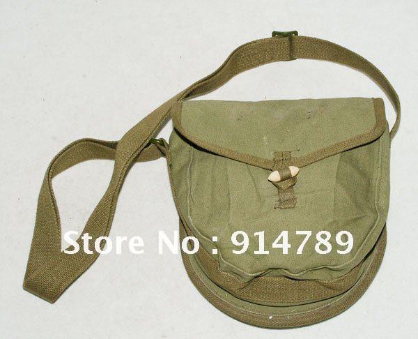 Excedente VIETNAM WAR China bolsa del tambor-31146