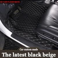 custom fit car floor mats for honda accord 7th 8th 9th generation hrv vezel fit crv cr v city 6d carpet rugs liners