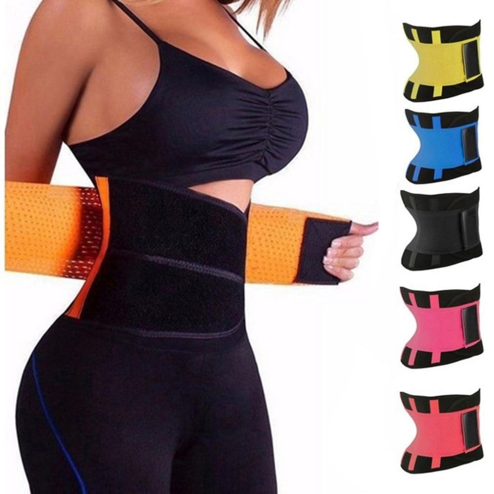 Waist Trainer Cincher Women Xtreme Thermo Power Hot Running Vest Body Shaper Girdle Belt Underbust Control Slimming