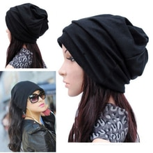 Hot Sale  Dual - use Hats Women Men Scarf  Cool Fashion Slouch Winter Knit Scarf Hip-Hop Hats Ear ca