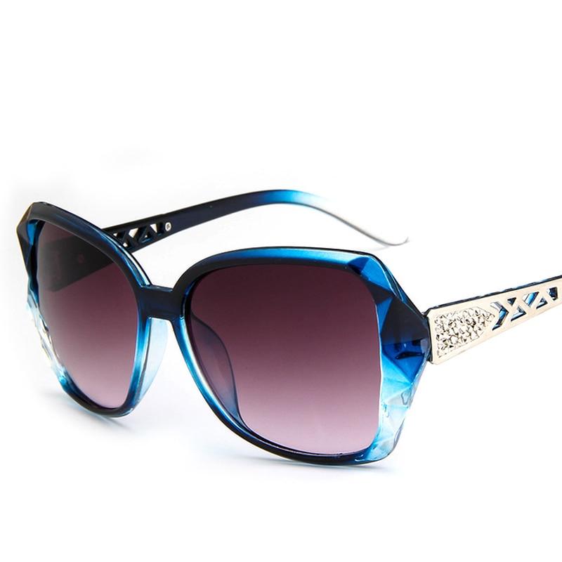 Женские солнцезащитные очки оверсайз, брендовые дизайнерские винтажные Квадратные Солнцезащитные очки с кошачьими глазами черного цвета, ...