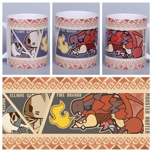 Anime JK Game MHW MONSTER HUNTER : WORLD Cosplay Mug Ceramic Daily Drink Cup Gift