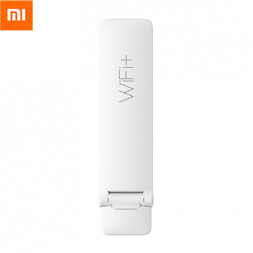 Amplificador Wifi Original Xiaomi versión actualizada 2 enrutador Wifi inalámbrico 300Mbps ampliador de señal USB compatible