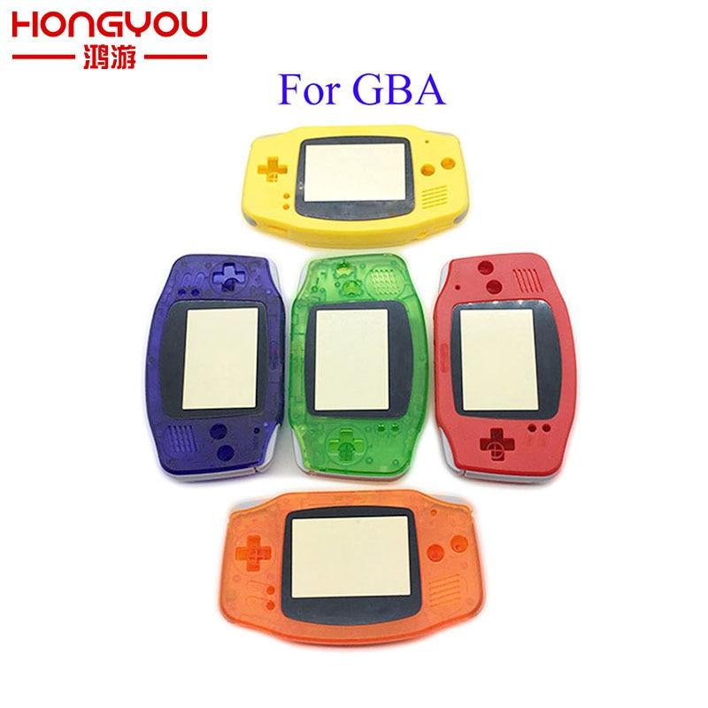 علبة بلاستيكية بديلة لجهاز Nintendo GBA ، علبة بديلة لوحدة تحكم Gameboy Advance ، 12 قطعة