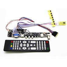 Kit de carte contrôleur TV + HDMI + VGA + AV + USB + AUDIO TV LCD 17.3