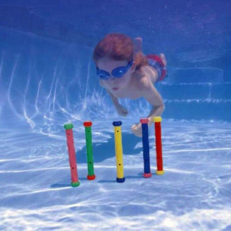 Barra de buceo de juguete, juego de natación subacuático, piscina, agarre de palos para bucear 55504, accesorio de juguete, palo de carreras, juego de agua, natación B41013