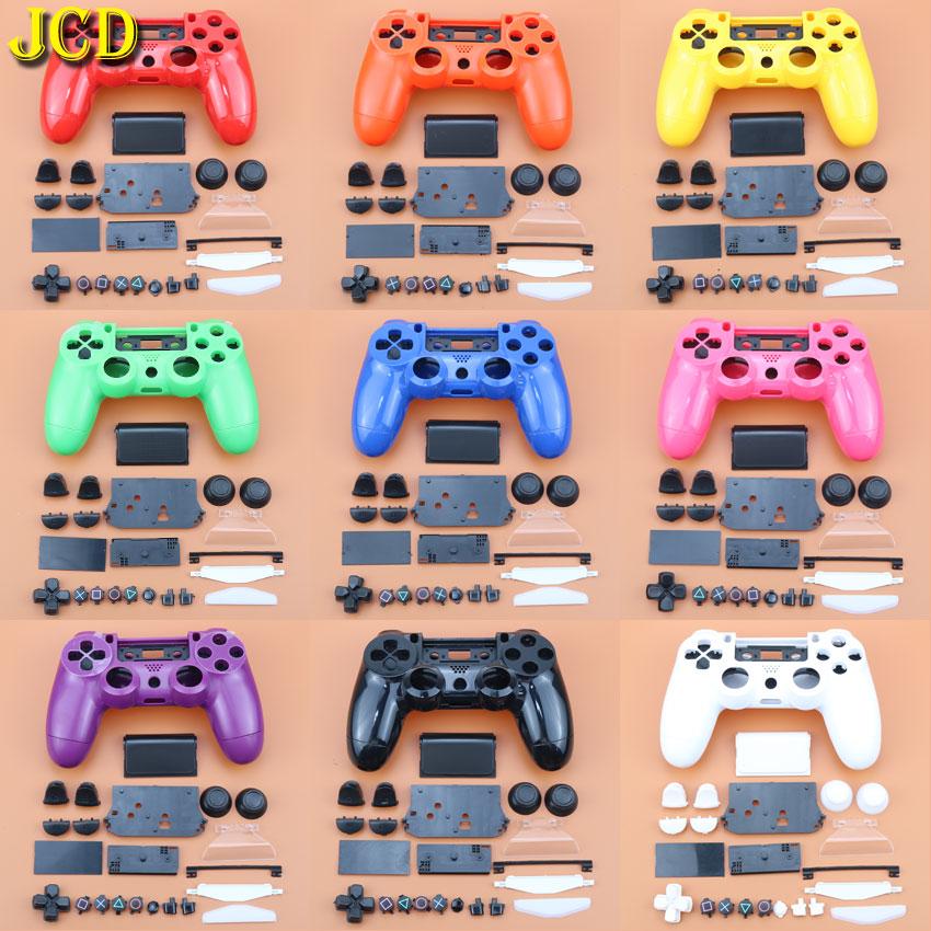 JCD полный в виде ракушки и пуговицы Mod Kit для DualShock Игровые приставки 4 PS4 JDM-010 / 011 / 001 контроллер ручка Корпус чехол Крышка