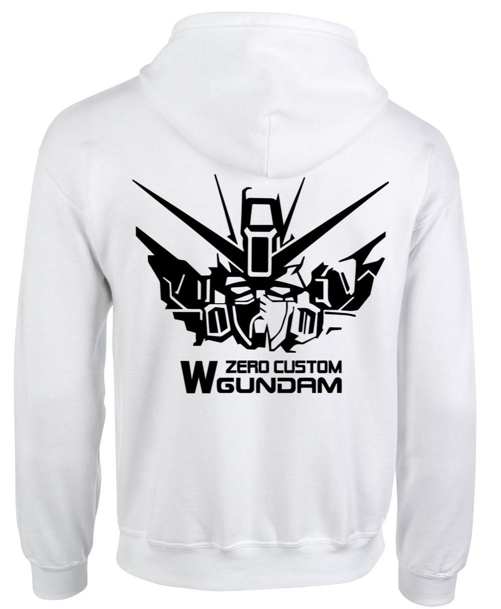 Gundam WING ZERO Capuz Casaco Animation Comic Cosplay Moda
