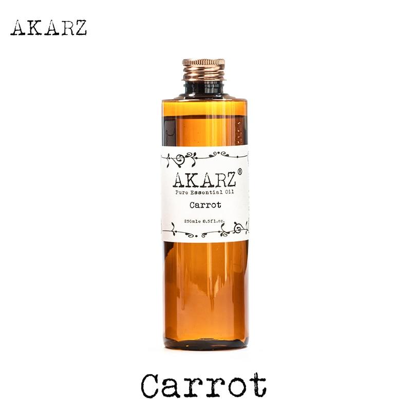 AKARZ Berühmte marke Karotten öl natürliche aromatherapie großvolumen hautpflege massage spa basis träger Karotte ätherisches öl