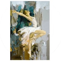pop art handpainted nude sexy women abstract oil painting wall art home decoration handmade fine art pictures for living room