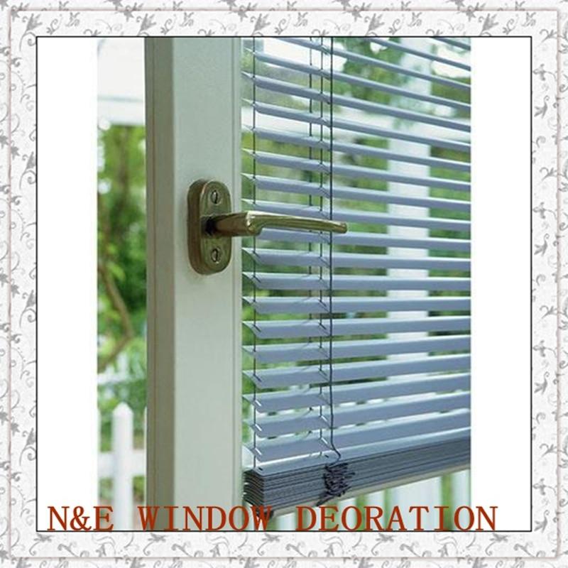 Frete grátis janela cortinas de alumínio barato para sala estar/kichen quarto e
