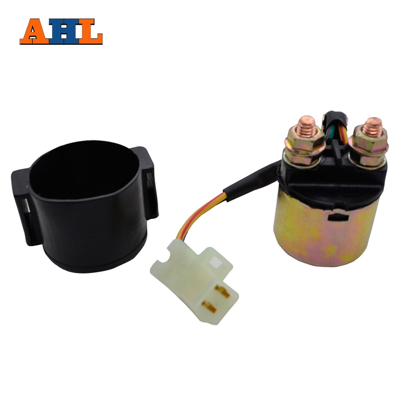 AHL Motorcycle Starter Solenoid Relay Ignition Key Switch For Yamaha VIRAGO 535 XV535 1987-2000 Stre