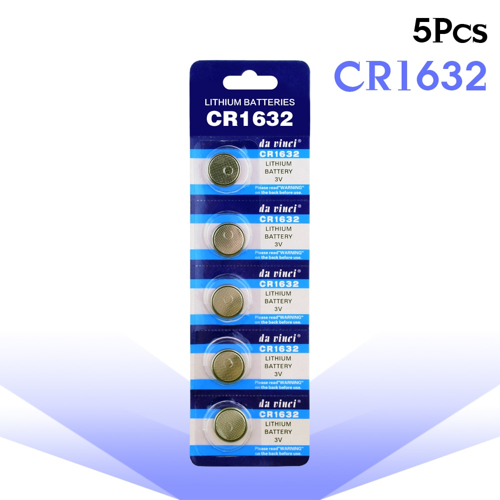 YCDC 5 teile/los Neue 3v CR1632 Lithium-Batterie 1632 DL1632 KCR1632 LM1632 BR1632 ECR1632 KL1632 L1632 KECR1632 Taste Münze zelle