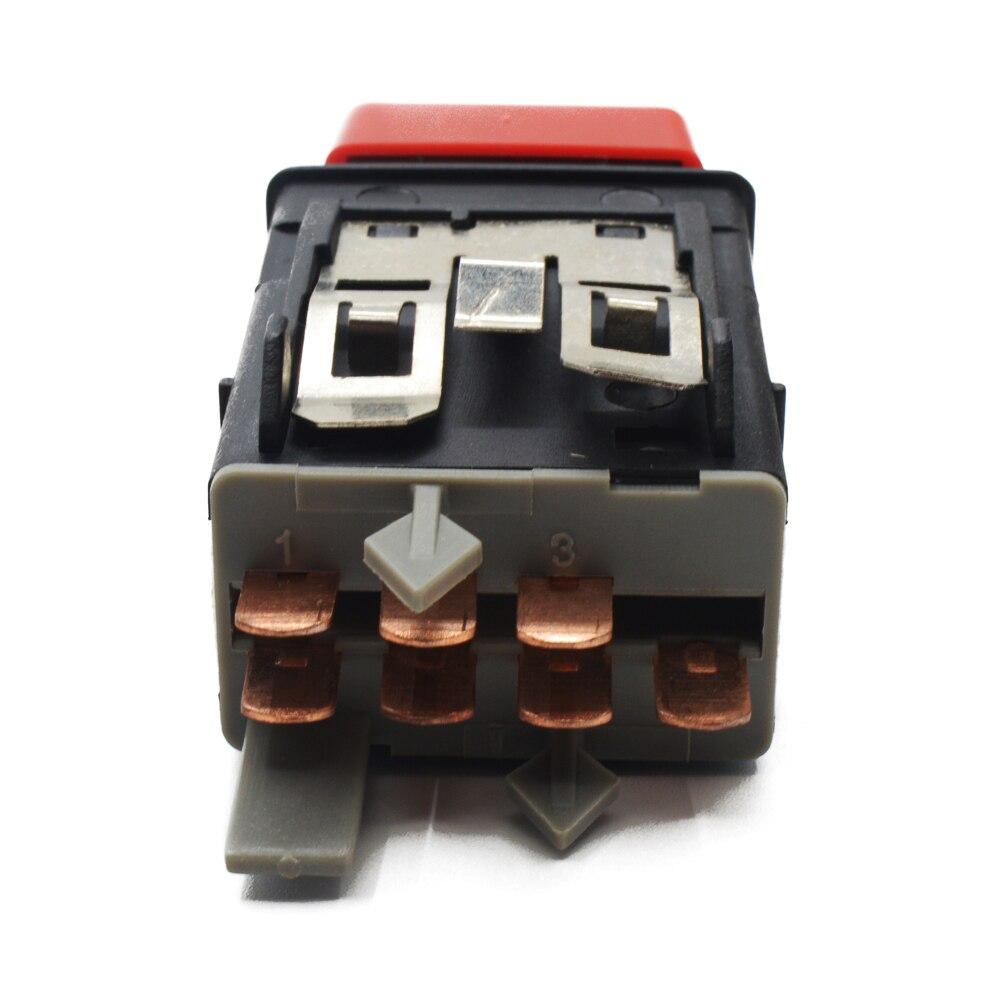 Para Volkswagen VW T4 LUPO POLO 1999 - 2003 riesgo de emergencia de luz intermitente de botón interruptor 6N0 953 235 6N0 953 235B 6N0 953 235C