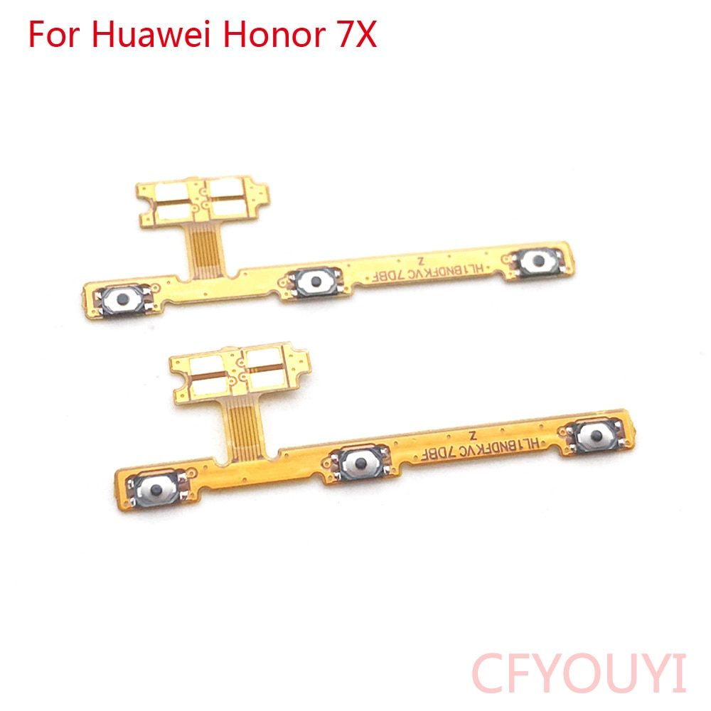 for-huawei-honor-7x-power-switch-on-off-key-volume-up-down-button-flex-cable-repair-parts