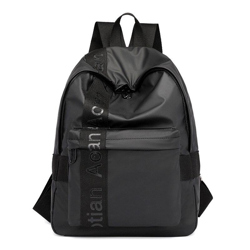 ¡Novedad de 2019! mochila informal de moda para mujer, mochila práctica impermeable de alta calidad para hombre, mochila de nailon para estudiantes