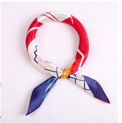 Shistal-pure real silk square scarf 55*55cm  fashion print women and girl brand shawl 2018 new design headwear No. 53