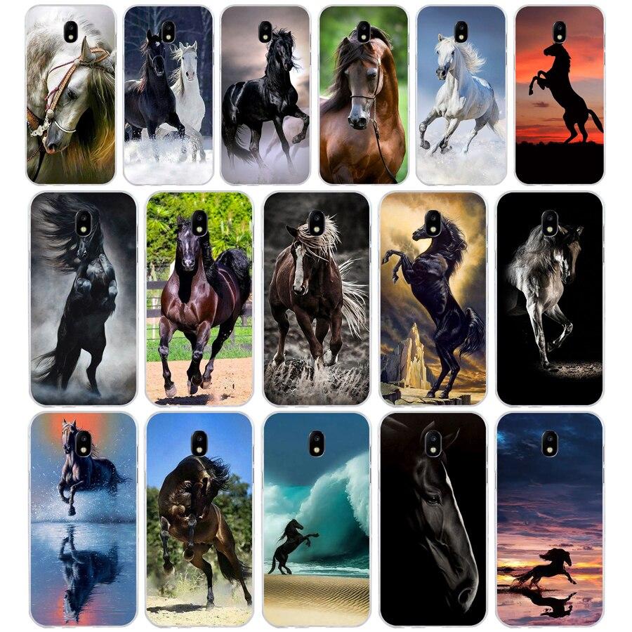 324WE el mejor caballo de silicona suave de la cubierta del Tpu del teléfono funda para Samsung j3 j5 j7 2015, 2016 de 2017 j330 j2 j4 primer j4 j6 Plus 2018