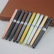 Jinhao X750 Roller Ball Pen farbe stifte Silber Clip Rollerball Luxus Metall Stift Schreiben Lieferungen Schreibwaren