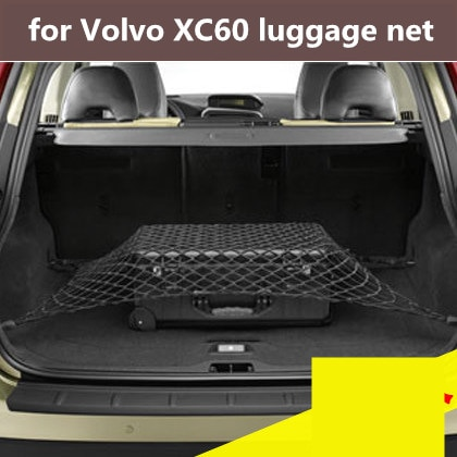 1pcs for Volvo XC60 luggage net pocket storage net pocket Volvo trunk fixed modified special car net bag