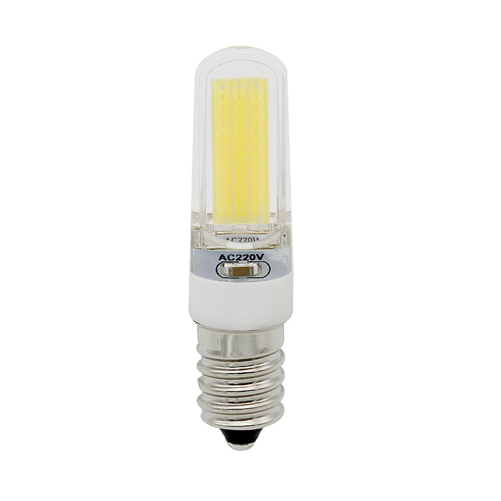 Dimmbare COB 2609 SMD Led-lampe E14 220 V 230 V ersetzen 10 Watt CFL 30 Watt Halogen Licht für Zuhause Beleuchtung Kerze Kronleuchter lampe