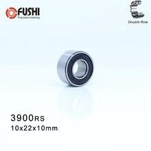 Roulement à billes à Contact angulaire   3900-2RS 10*22*10mm (1 Pc ) 3900 2RS Double rangée scellé 3900 RS, roulements à billes à Contact oblique