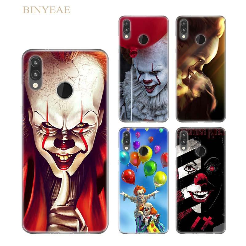 Чехол Pennywise Clown Float It для Huawei P20 P Smart P8 P9 lite 2017 P10 lite Pro P9 lite мини Мягкий силиконовый чехол