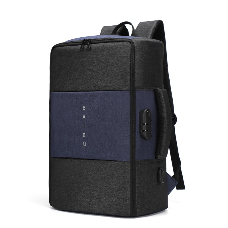 Backpack Men NO Key TSA Anti-theft Multifunctional Waterproof USB Laptop Backpack Travel Bag in Male Luggage Backpack Business anti theft backpack harry styles print 2020 new men s laptop backpack men s travel backpack business backpack