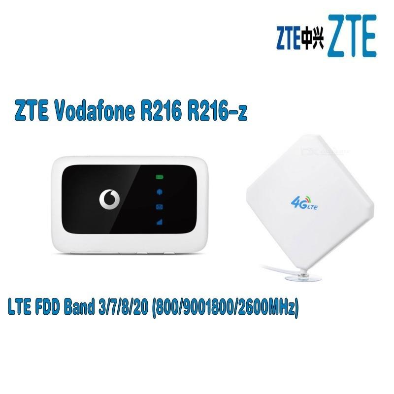 antena wi fi zte vodafone r216 4g plus 35dbi ts9 tipo 4g roteador