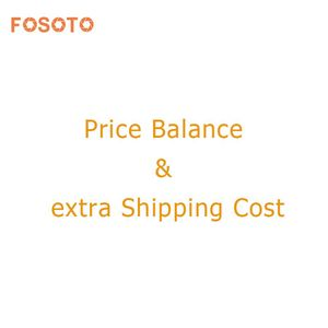 Extra Fee shipping cost charge&Price Balance