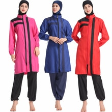 DROZENO Moslem sport swimsuit Four-color Muslim swimsuit for women New Muslim long-sleeved