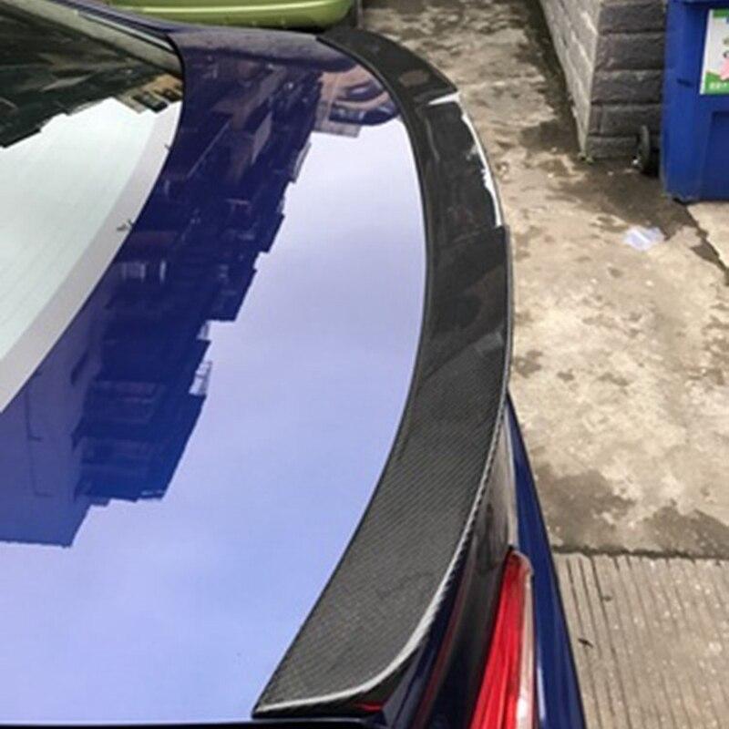 Car-Styling For subaru Legacy Carbon Fiber rear trunk boot Wing Spoiler 2016 2017 2018