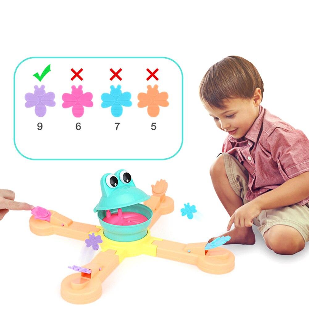 1 Juego de comida de rana de juguete, comida de abeja, juego de diversión educativa de escritorio, regalo para niños YJS Dropship