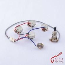 1 faisceau de câbles guitare GuitarFamily pour SG LP Dot (1 interrupteur à bascule + 4 Pots + Jack) (#0582) fabriqué en corée