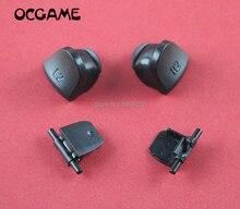 OCGAME Remplacement JDS-030 JDM-030 Pièces Boutons L2 R2 Pour Playstation 4 PS4 JDS030 JDM030 Contrôleur Déclencher 5 ensembles/lot