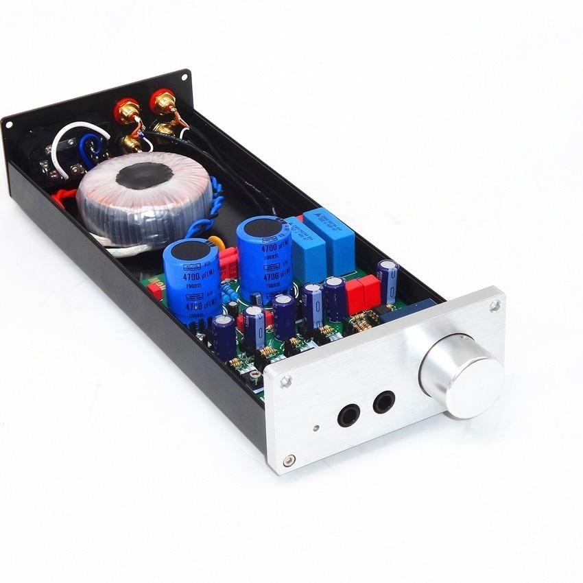 TIANCOOLKEI çoğaltma Lehman kulaklık amplifikatörü K701 HD650 çift çıkış preamplifikatör yüksek güç çıkışı kullanabilir tüm kulaklıklar