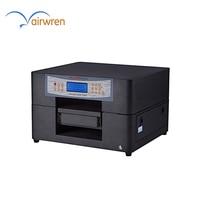 6 Colors Desktop UV LED Flatbed Phone Case UV Printer with CMYKWW Automatic Digital UV Printing Machine For Plastic TPU Wood