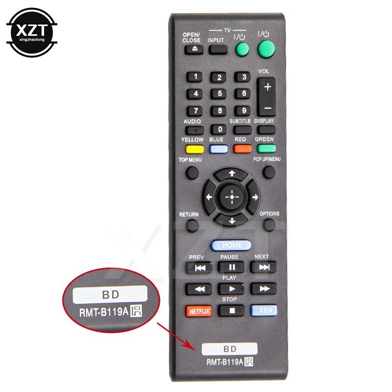 1 Uds Control remoto RMT-B119A para SONY BDP-S3200 BDP-S580 BDP-S5100 reproductor de Blu-ray inteligente Control remoto de alta calidad