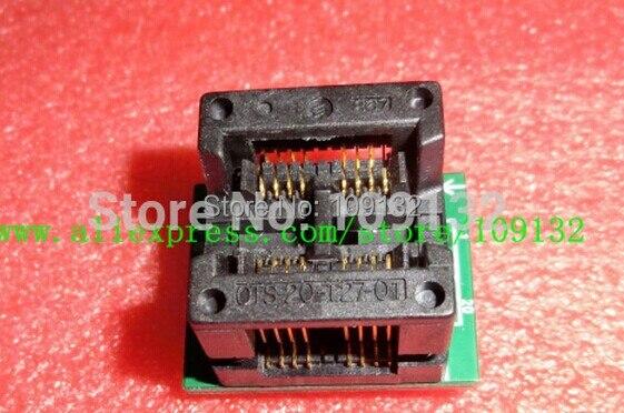 1 stücke doppel SO8 SOP8 to DIP16 Programmer adapter Sockel 200mil 208mil 25Q 25F CHIP