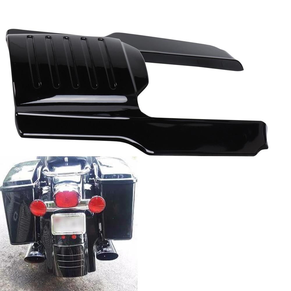 Remplissage pour garde-boue arrière de moto   Noir brillant, Extension de garde-boue arrière de moto de 7 pouces, sacs étirés pour les modèles Touring 1996 1997 1998-2008