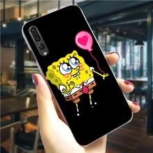 Phone Case For Huawei P9 Lite 2017 SpongeBob SquarePants Cover P9 Lite Mini/P10 20 30 Lite Pro P Smart Mate 10 20 Lite Pro