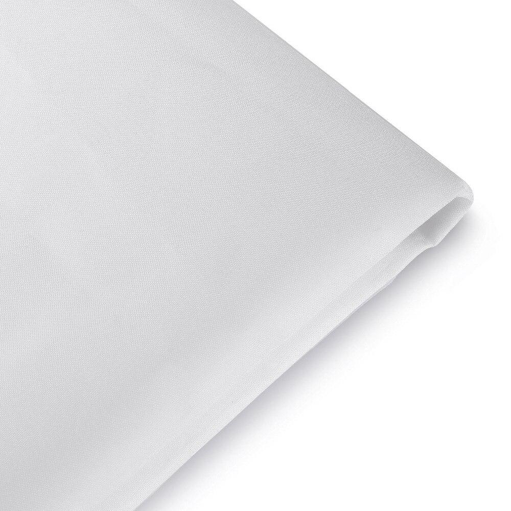 Neewer 2 Yardx60 Inch/1.8Mx1.5M Nylon Silk White Seamless Diffusion Fabric for Photography Softbox Light Tent/Lighting Modifier enlarge