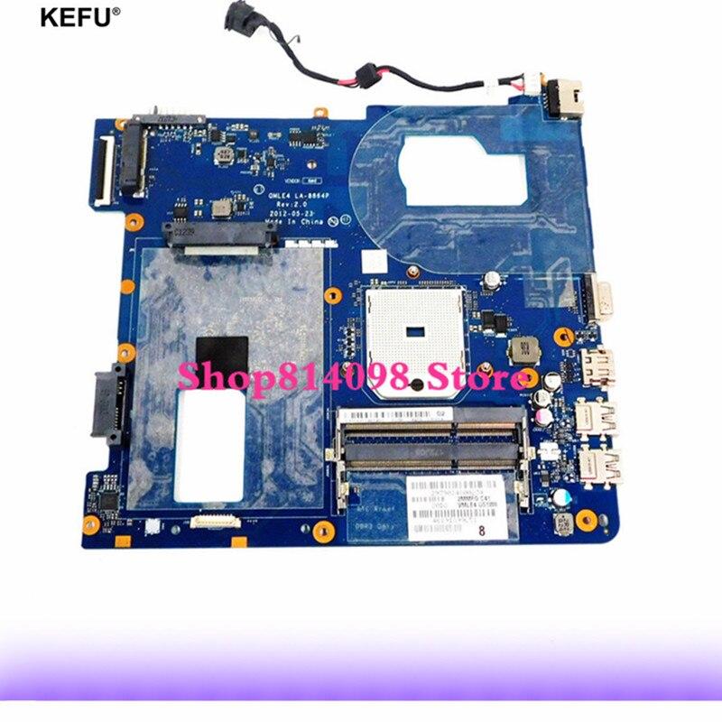 KEFU para Samsung NP365 E5C NP355V5C placa base portátil LA-8864P BA59-03399A BA59-03565A 100% probado envío rápido