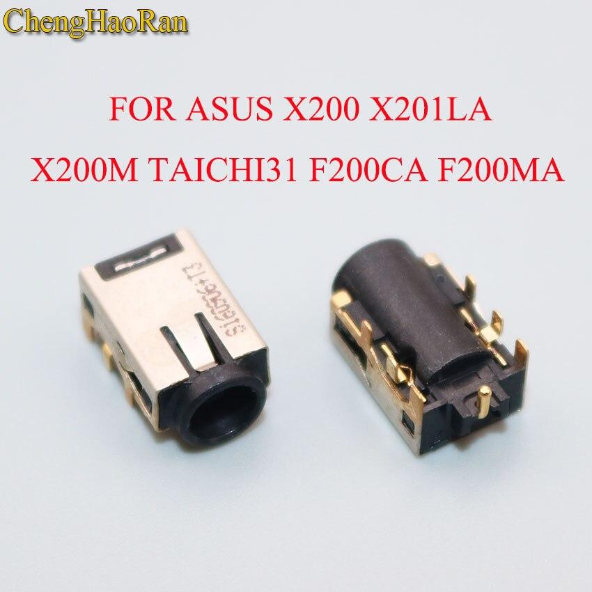 ChengHaoRan DC Power jack para Asus X200 X200E X200LA X201LA X201E X202E X200CA X200MA X200M TAICHI31 TAICHI21 F200CA F200MA