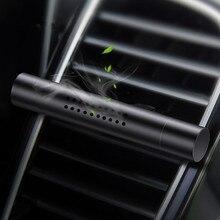Auto Lufterfrischer Auto Magnetische Metall Parfüm Diffusor Feste Luft Vent Clip Duftenden Duft